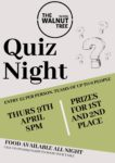 Quiz Night 9th April