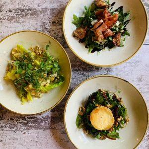 New menu dishes